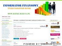 Informator o produktach finansowych