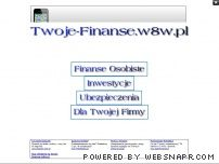 Finanse osobiste i firmowe